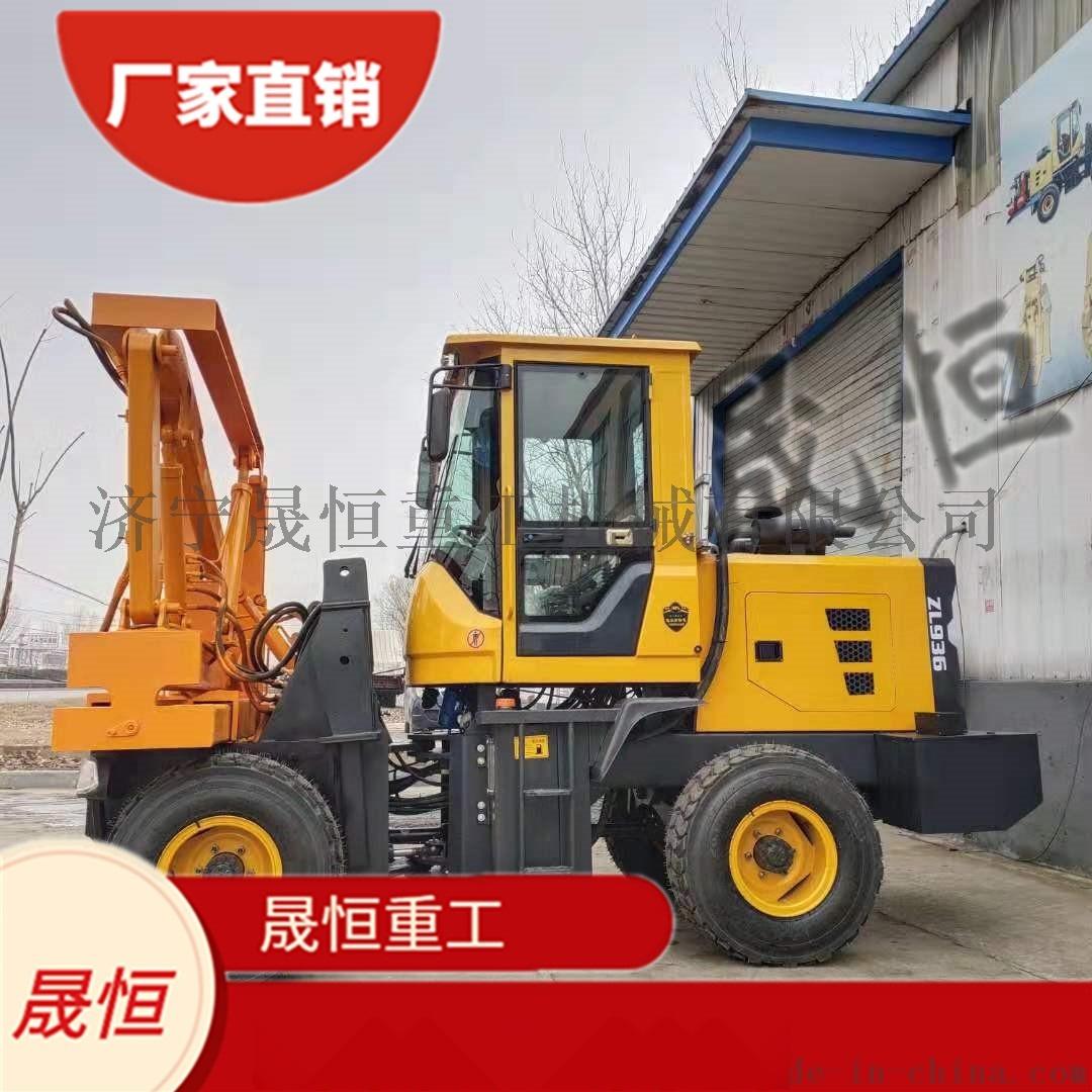 厂家直销 高速公路波形护栏打桩机 打拔钻一体898234335