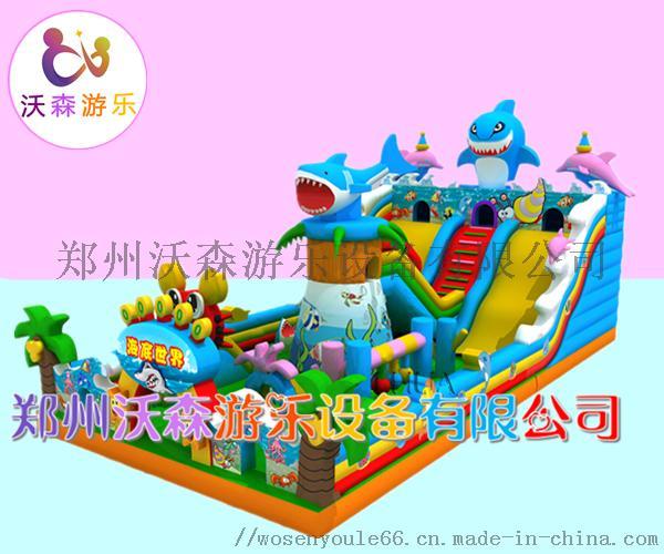 河南充气城堡厂家,儿童充气滑梯2019热销款式83221452
