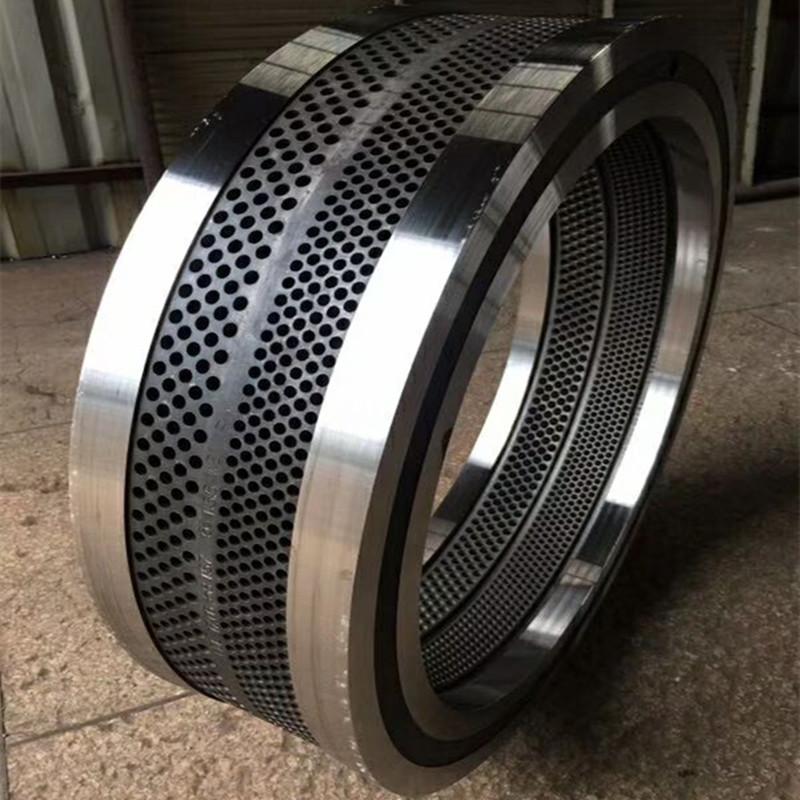 560颗粒机耐磨合金钢环模模具 环模压缩比成型好出料快113688442