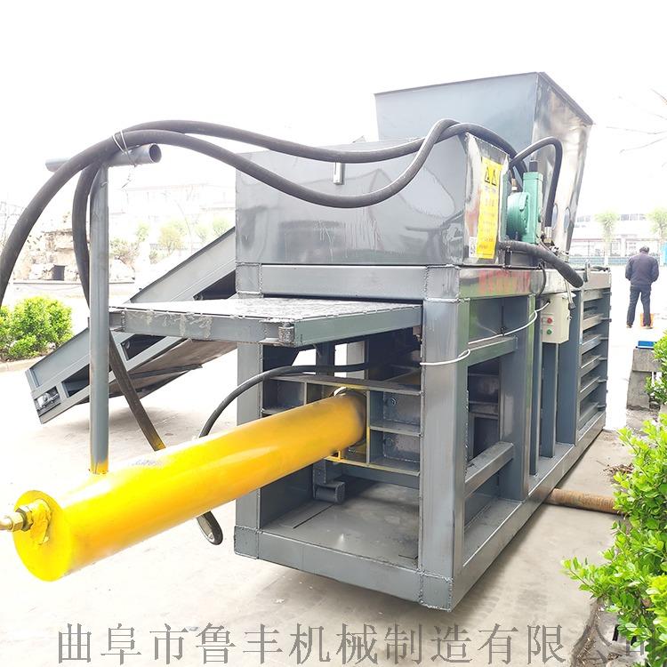 寧夏120噸棉花飲料瓶臥式液壓打包機報價96455702