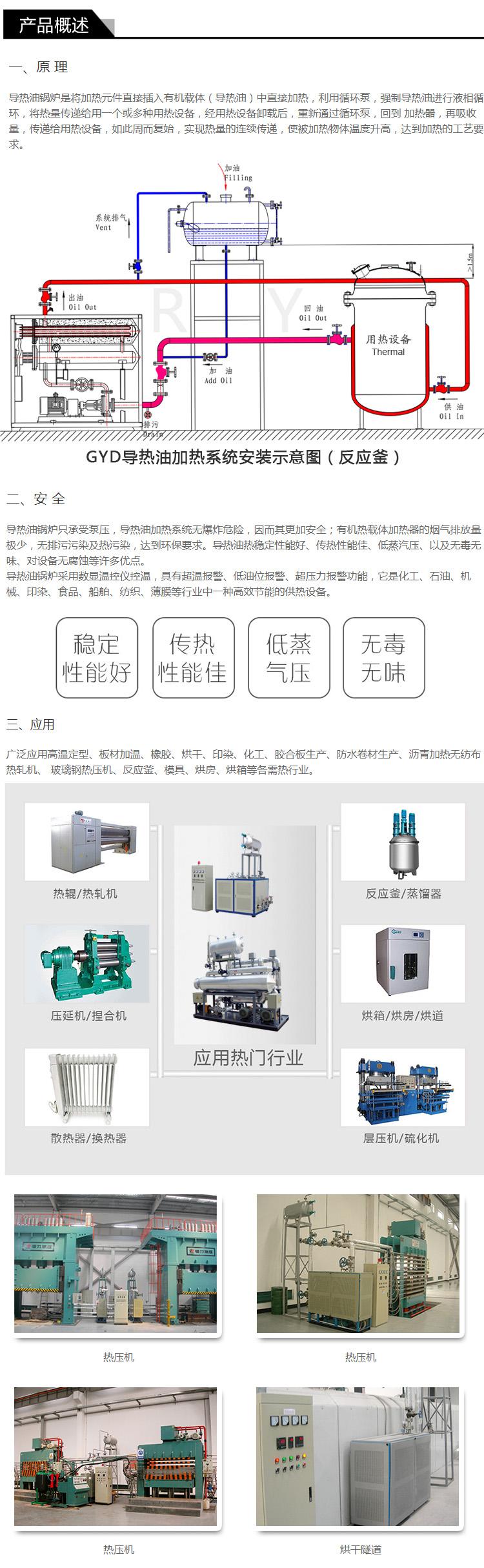 江苏瑞源厂家供应医药行业反应釜加热电加热导热油炉79014215