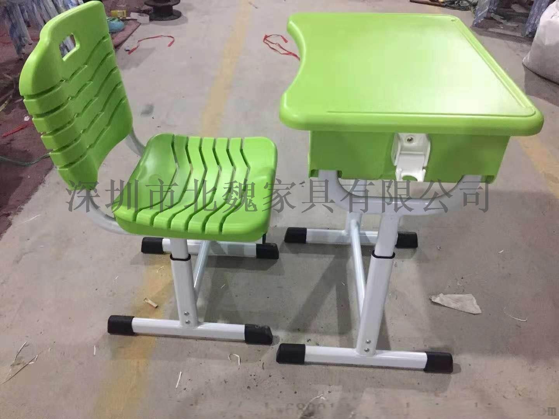 深圳连体钢木结构课桌椅_钢木课桌椅厂家105275345