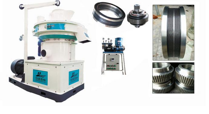 高强耐磨颗粒机压辊皮压轮总成 高温热处理压辊厂家直销113693612