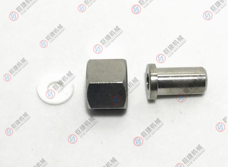 活接式压力表不锈钢压力表接头 六角螺母压力表接头37537805