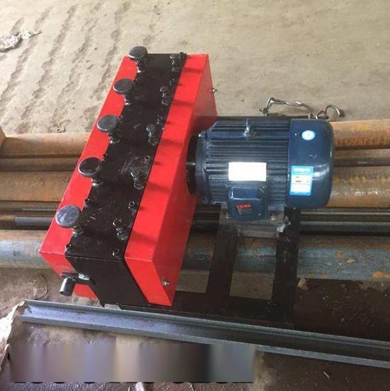 广西来宾市孔道钢绞线穿线机高清图穿束机视频