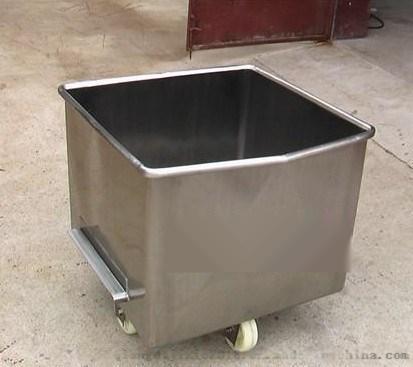食品通用小料车 不锈钢小料车 滚揉机用小料车747020052