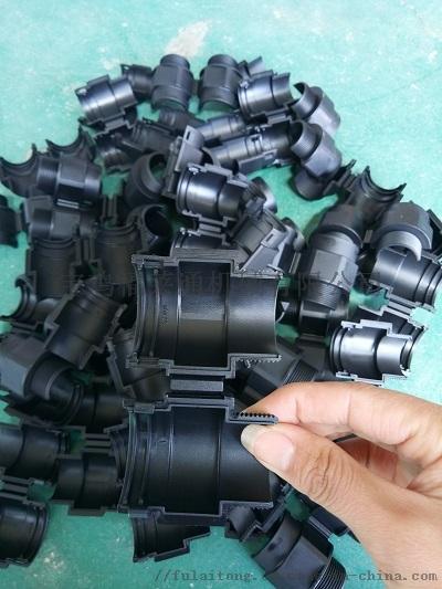黑色AD21.2出口型防水尼龙管接头135906335
