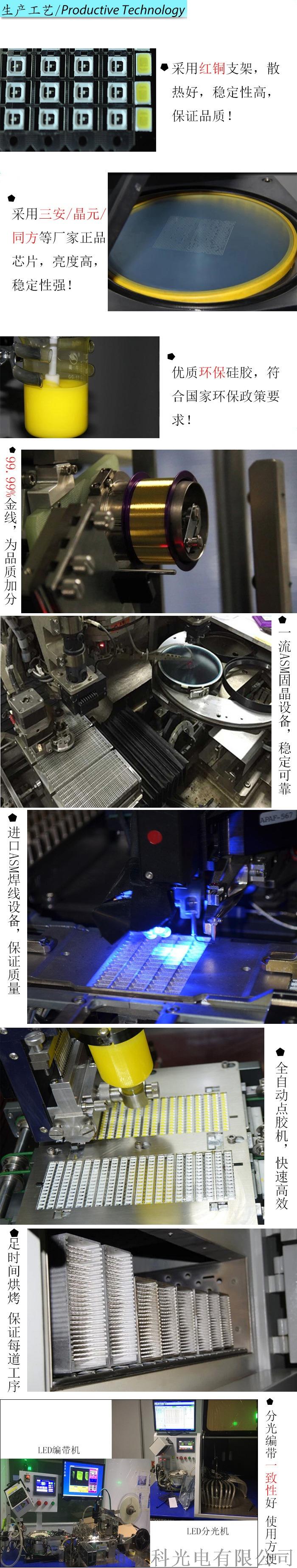 汽车用灯3535透镜LED灯珠红 黄 蓝 绿112692522