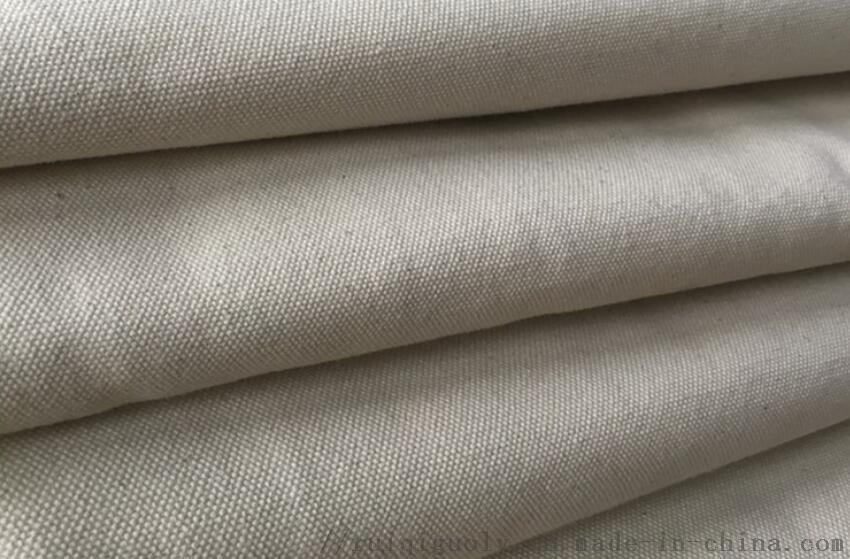 加厚手袋箱包全棉白色帆布 沙发工业鞋材面料现货60078162