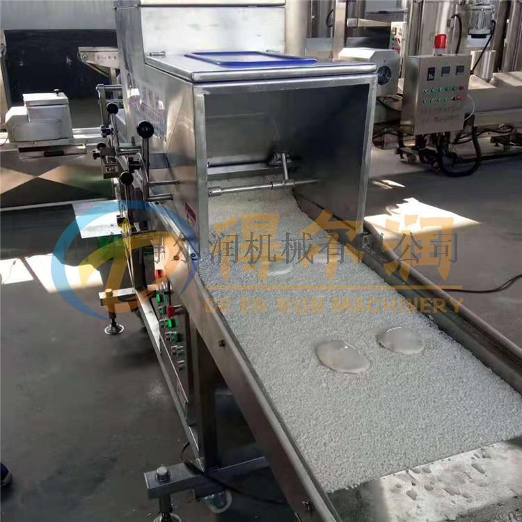 芝士奶酪块上浆裹粉机设备 芝士裹面包屑机 裹糠机795856332