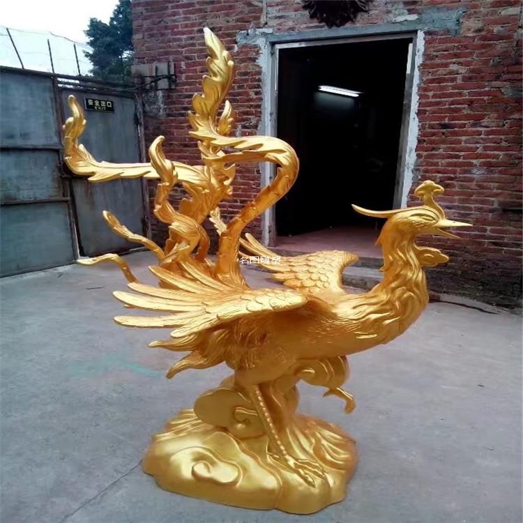 动物玻璃钢雕塑 凤凰雕塑145223805