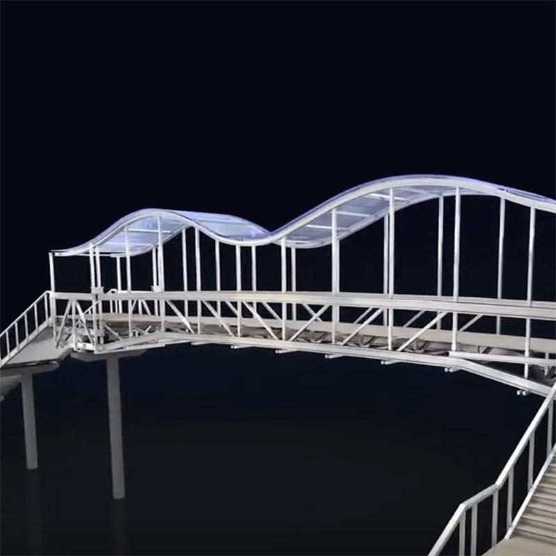 铝桥|铝合金天桥|铝合金人行天桥厂家兴发铝业920544405