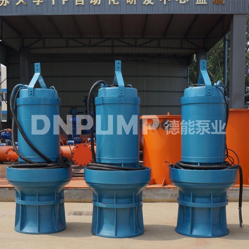 整套潜水轴流泵解决方案天津德能771469712