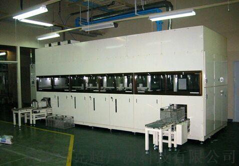 Multi-mechanical arm type ultrasonic cleaning machine.jpg