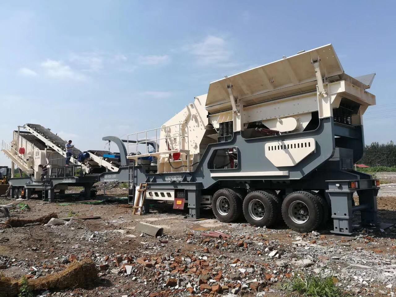 山東建築石子移動碎石機價格 恆美百特破碎機廠家79028362