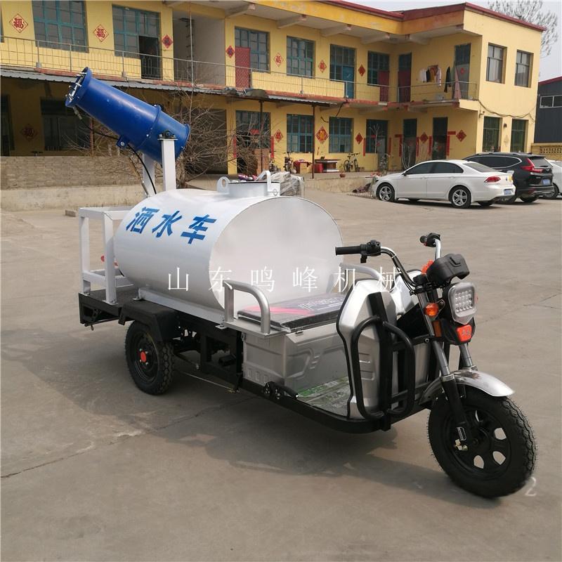 遥控降尘电动洒水车,手动自动可调雾炮洒水车75984492