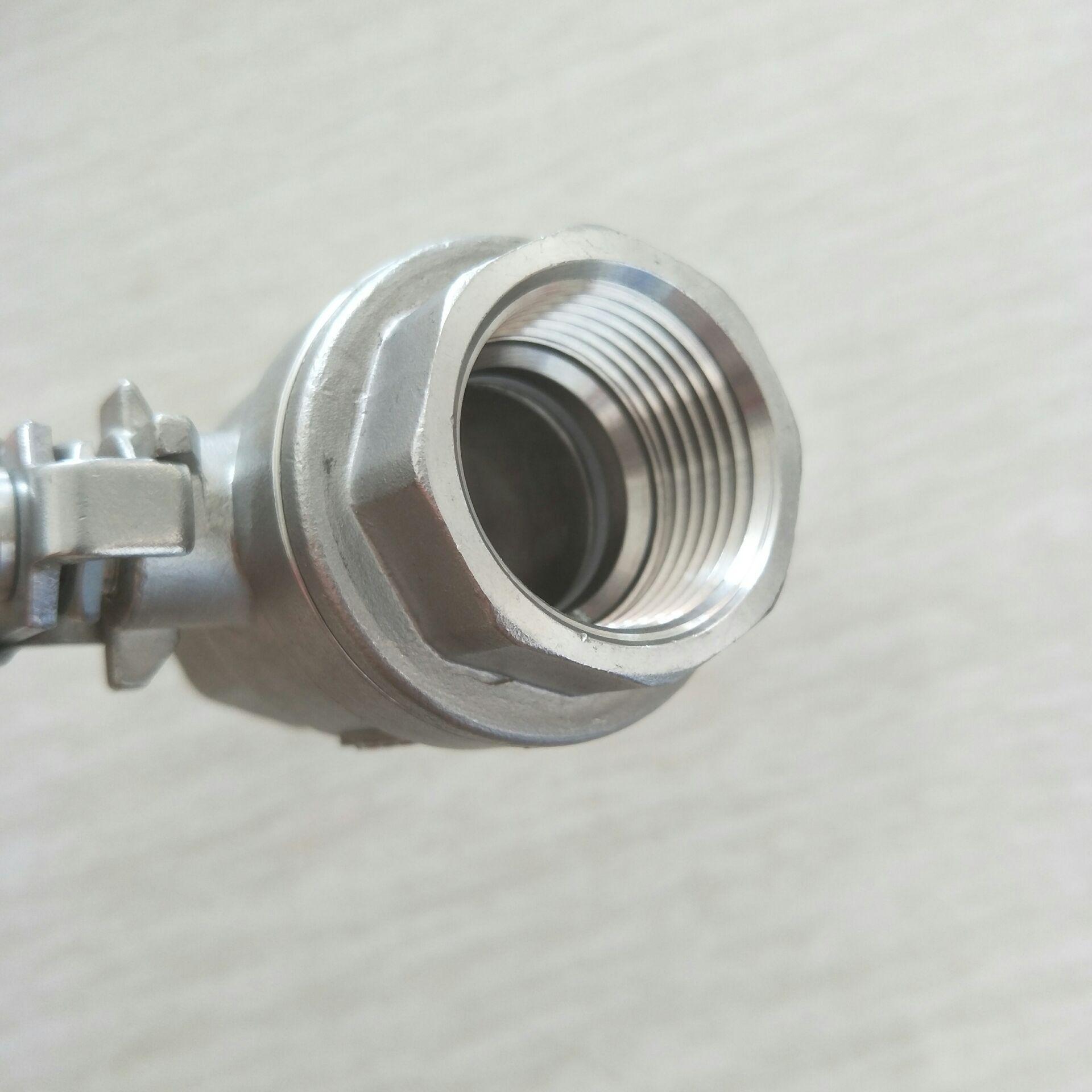 二片式不锈钢球阀DN25  2PC 球阀 1寸810950322