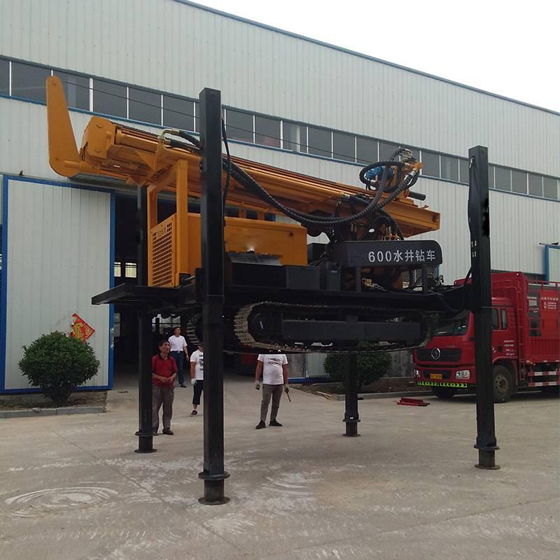 履带式钻井机 全自动深水井钻机 高速液压水井钻机69073372