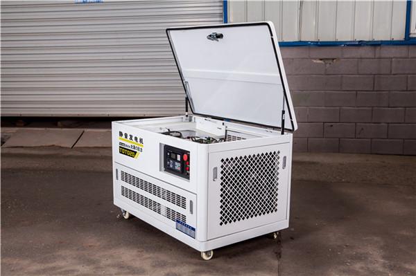 20kw无刷静音汽油发电机组型号822118902