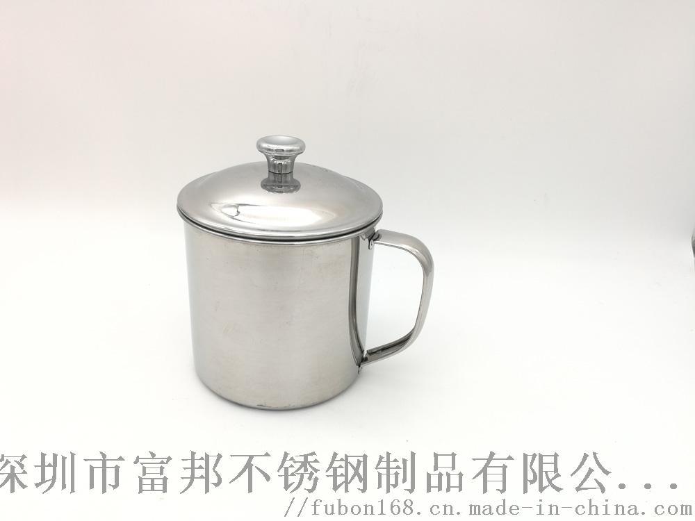 食品级304不锈钢钢口杯大人孩子  食堂家用口杯863909515