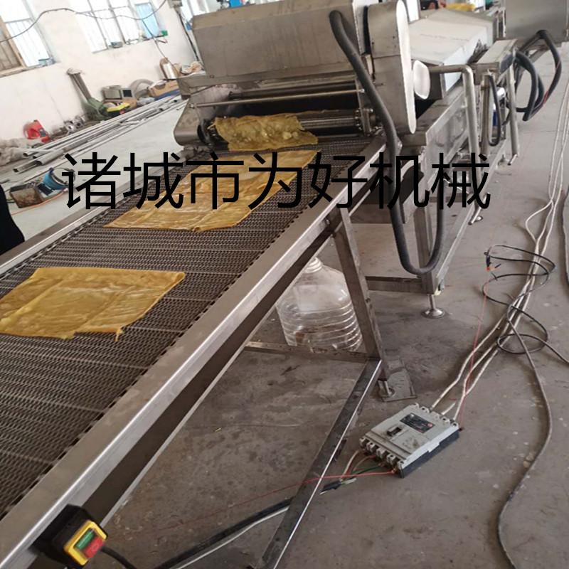 新型油皮油炸线 加工企业专用油炸设备111561682