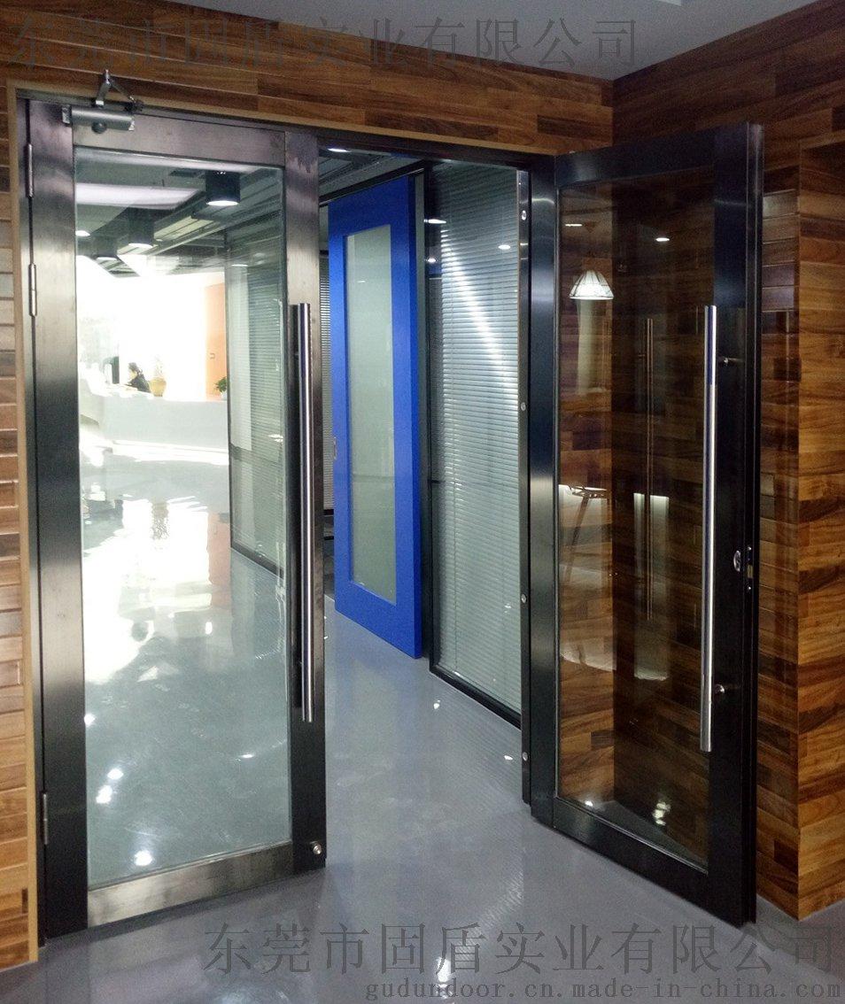 无指纹不锈钢  玻璃防火门耐用性能强772148565