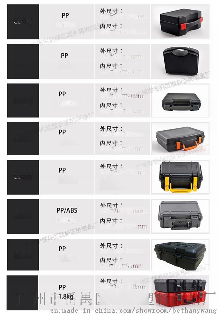 013厂家 实用车载塑料工具箱 安全防护箱60400985