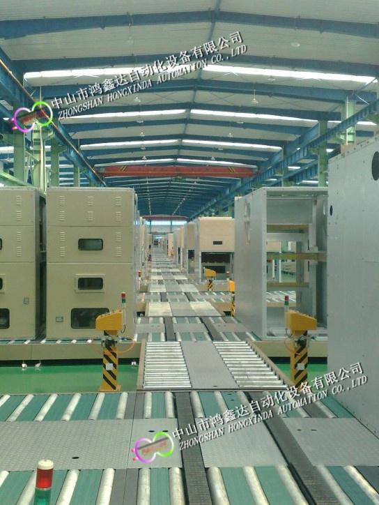 佛山配电柜生产线,中山充电桩装配线,开关柜滚筒线813940045