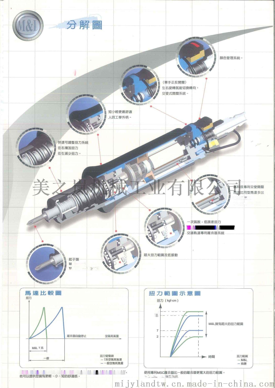 M&L T系列-直型下压式气动起子-PB44978012