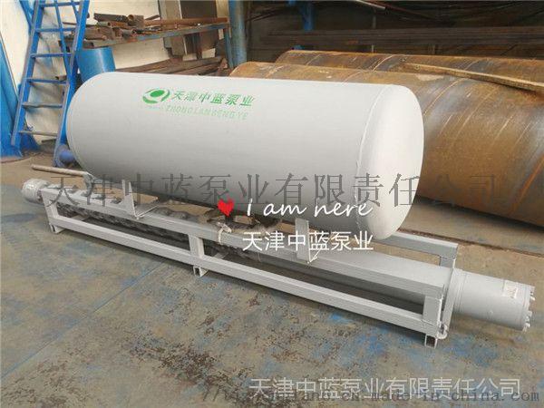 浮筒安装深井泵适用水上作业72433812