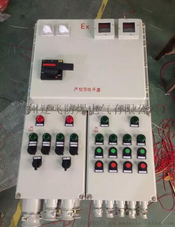 明装6回路带总开关防爆配电箱764454032