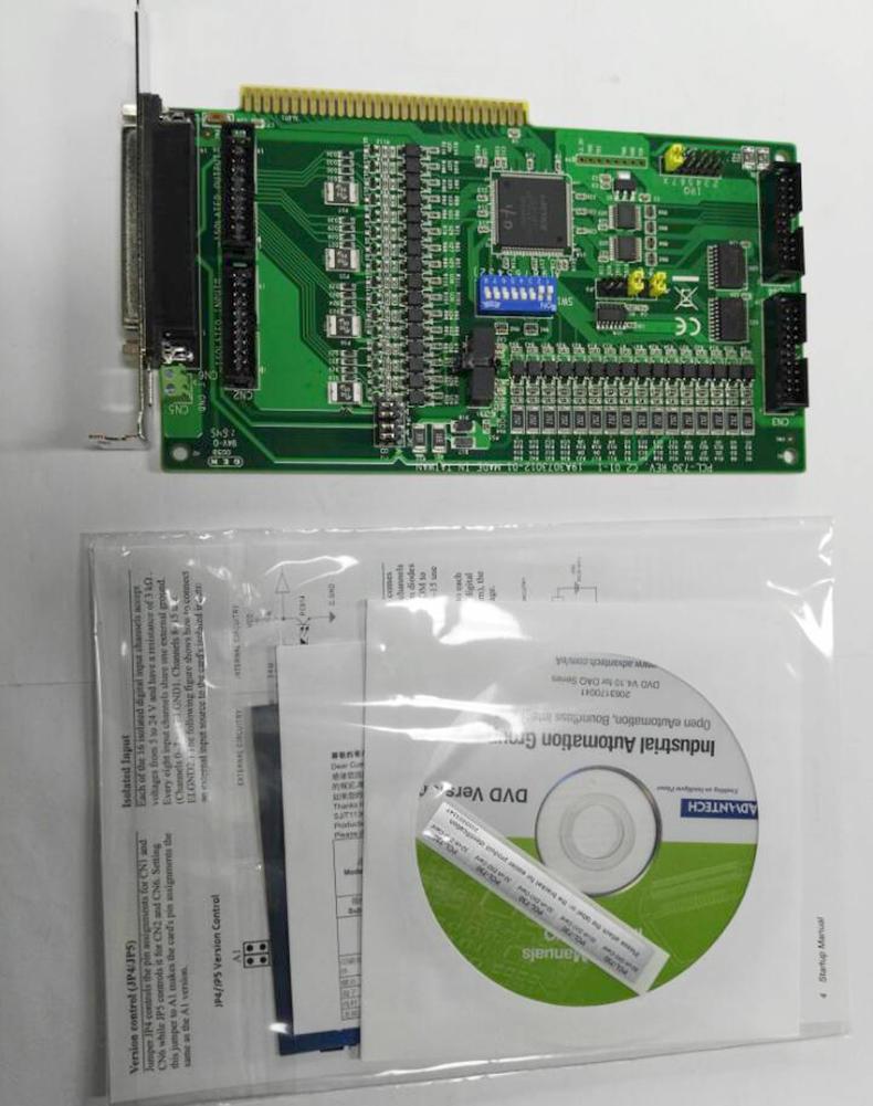 研华 PCL-730、32路数字量I/O卡38593255