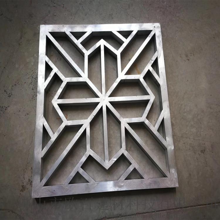 仿古型材铝窗花 仿木纹铝窗花 铝窗花定制厂家111179372