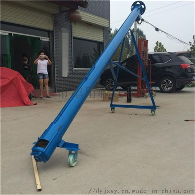 长春螺旋提升机 粉料颗粒圆管上料机LJ106335282