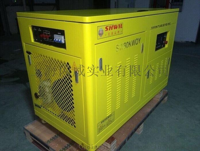 40KW汽油发电机 噪音小 进口动力 三相917437215