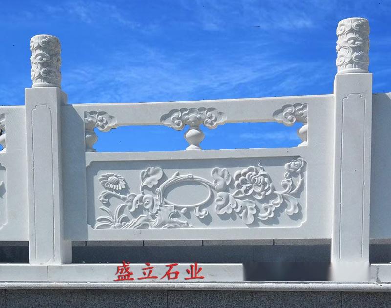 石雕栏杆厂家 青白石栏杆 花岗岩栏板 石雕围栏63897452