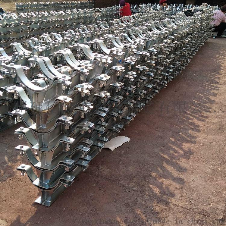 管夹型T型管托  J2型管夹T型管托 化工管托903867175