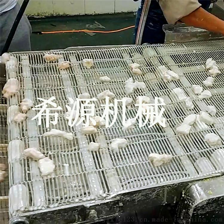正新鸡排油炸机 小型鸡排上浆裹粉油炸生产线105541072