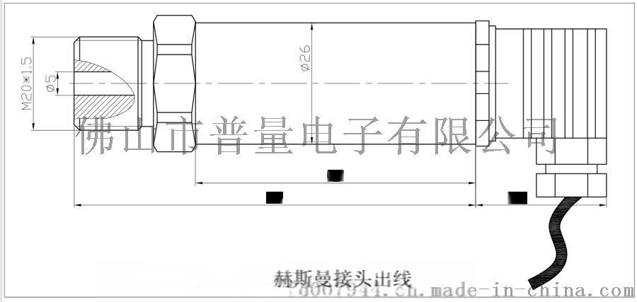 水压传感器PT500-503水压力变送器57484195