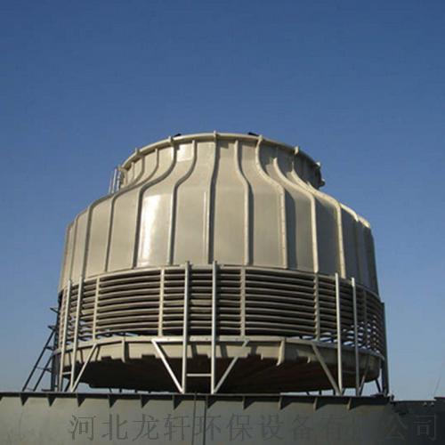 圓形逆流玻璃鋼冷卻塔  耐腐蝕抗氧化圓形冷卻塔103352802