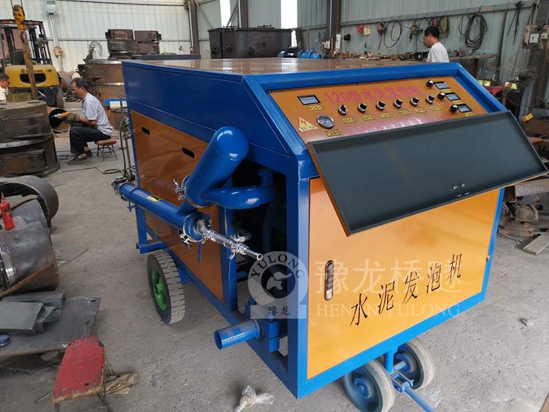轻钢别墅水泥发泡机厂家供应 浙江杭州水泥发泡机设备