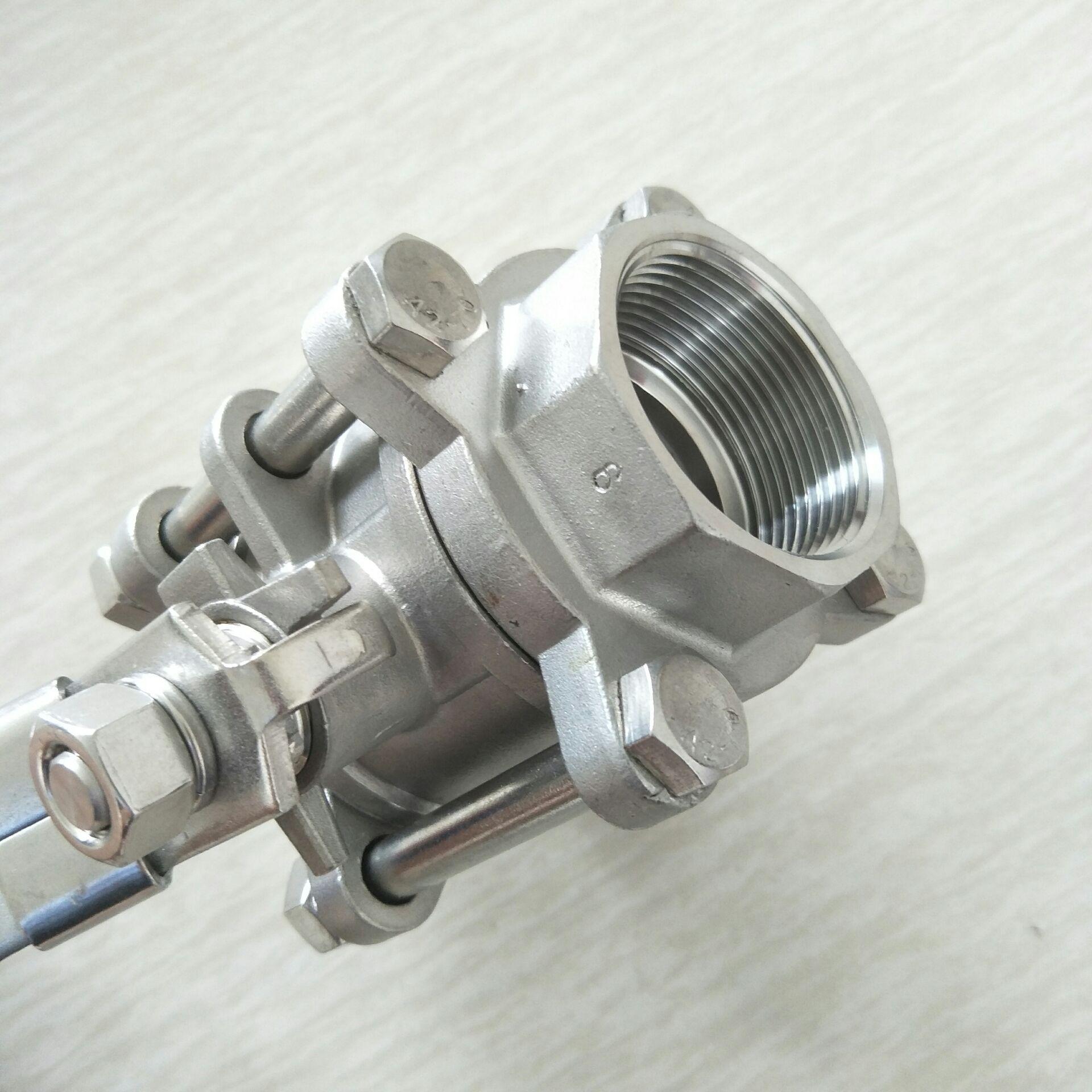 不锈钢三片式球阀 DN40 3PC球阀11/2寸810955092