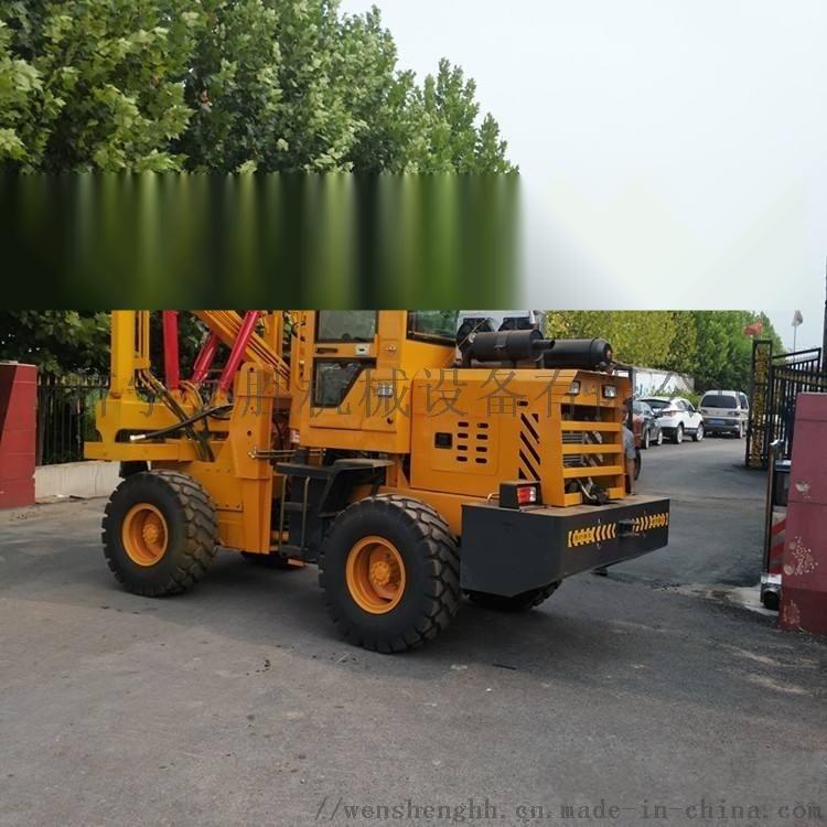 护栏立柱打桩机 公路护栏钻孔机56761712