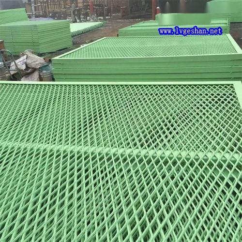菱形网格铝板 铝网板厂家 铝合金网板