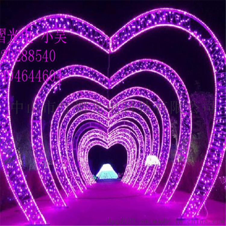 街道造型燈 led過街燈 春節裝飾燈 燈杆圖案燈770131435