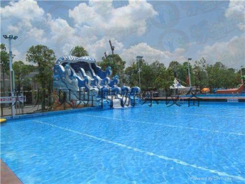 黑龍江佳木斯支架游泳池廠家直銷移動水上樂園65175735