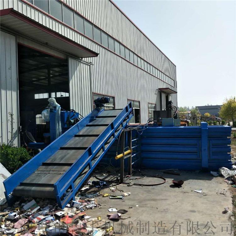 浙江160噸塑料泡沫礦泉水瓶大型臥式液壓打包機廠家96447202