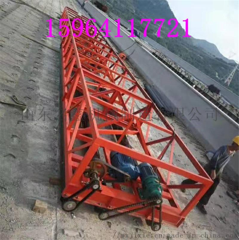 定制3.5-12米加长摊铺机 起拱架子三滚轴摊铺机832490042