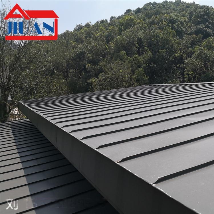 江西钛锌板 直立锁边系统 钛锌合金平锁扣板116830685