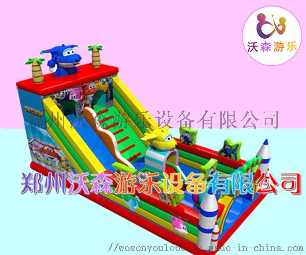 河南充气城堡厂家,儿童充气滑梯2019热销款式795446012